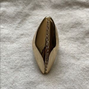 Alexis Bittar Gold Statement Ring